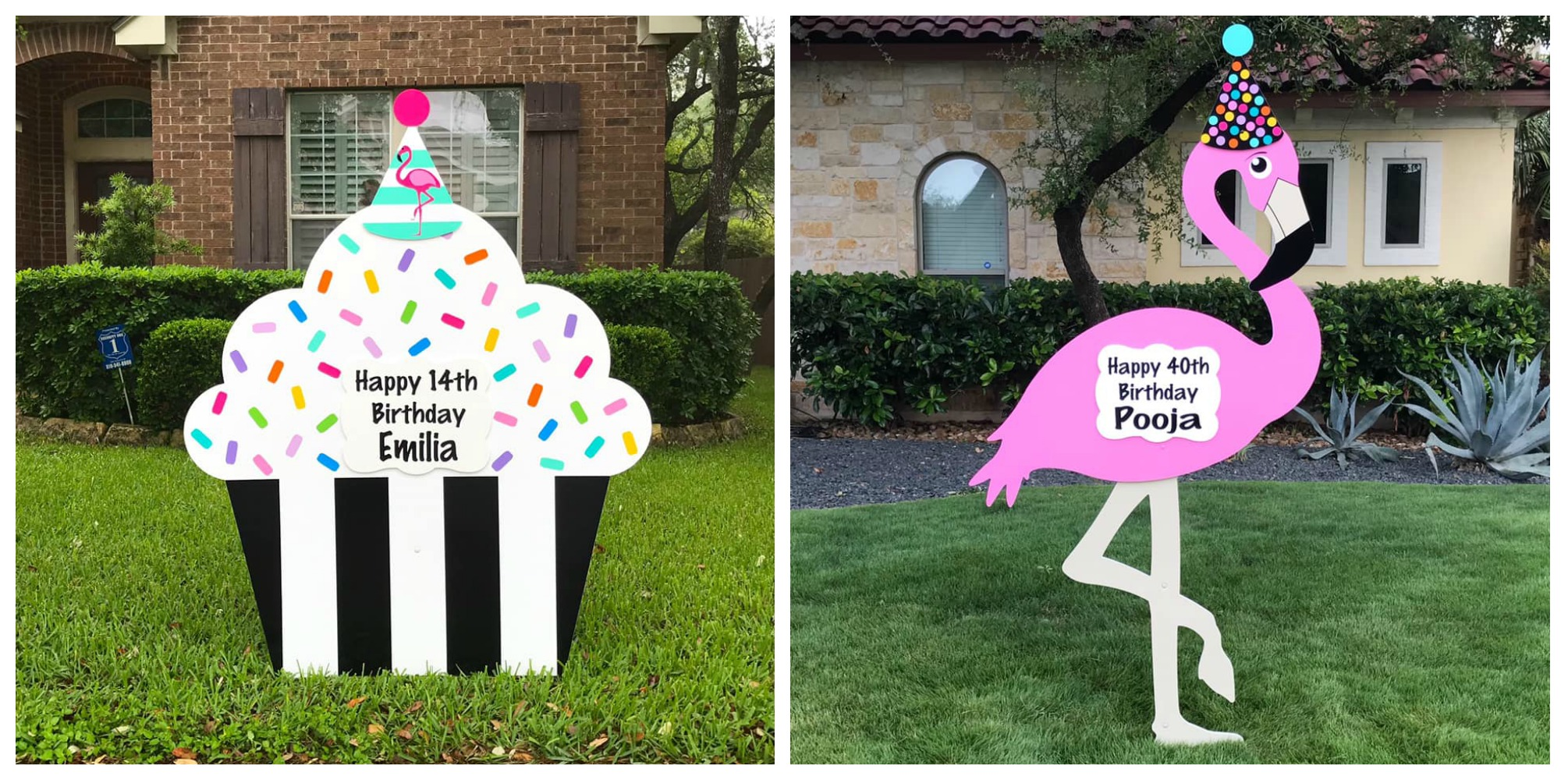 Happy Birthday Yard Sign Rental - Greater Baton Rouge